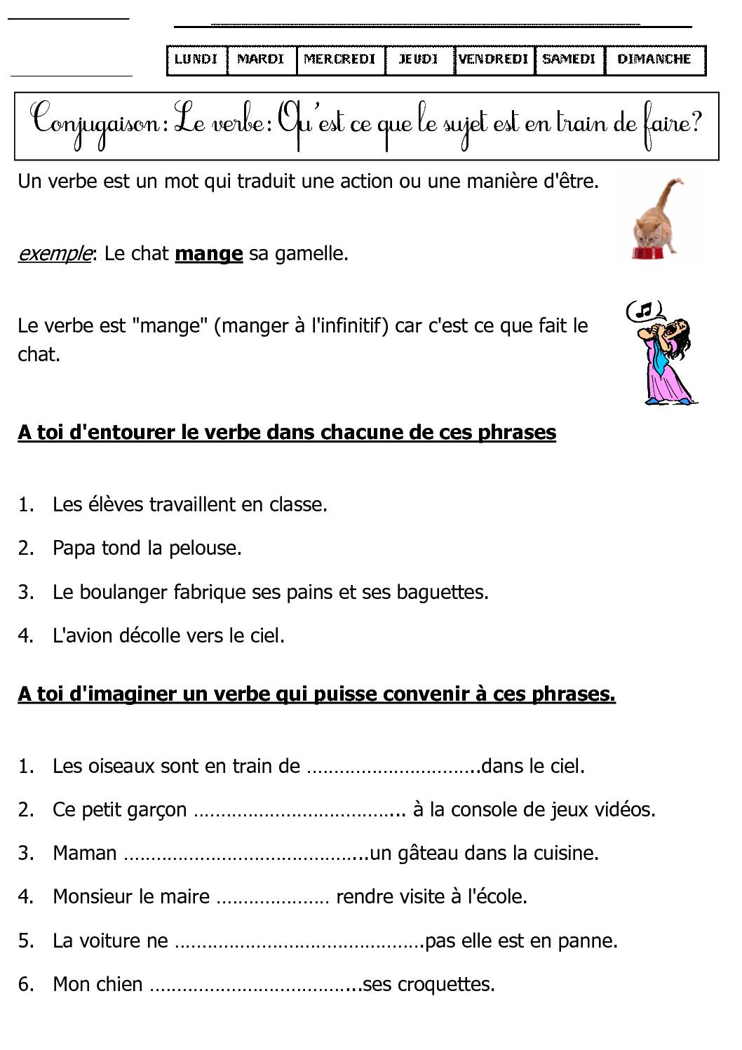 15 regles de conjugaison pdf