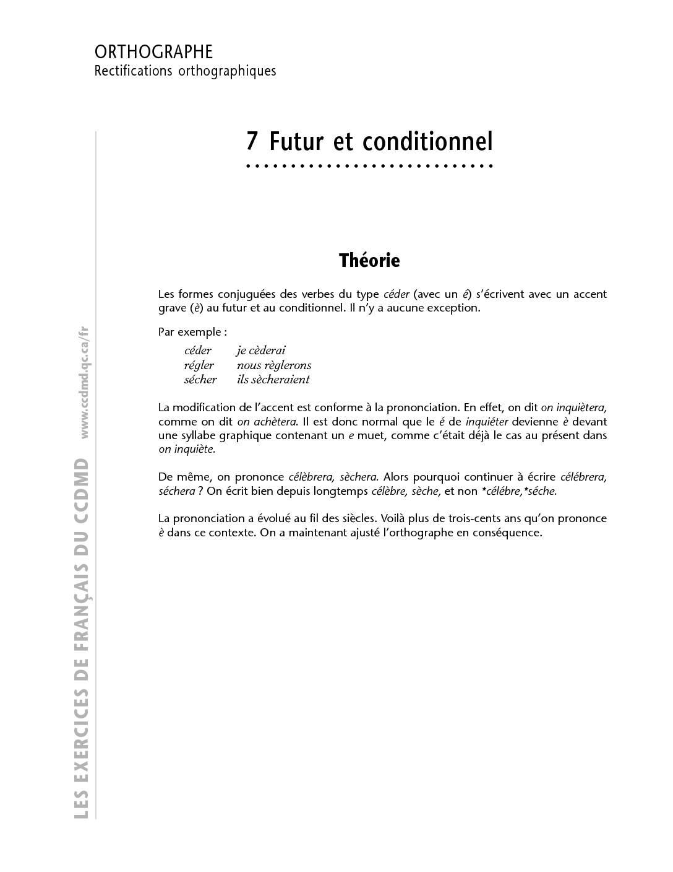 Cours Futur et conditionnel