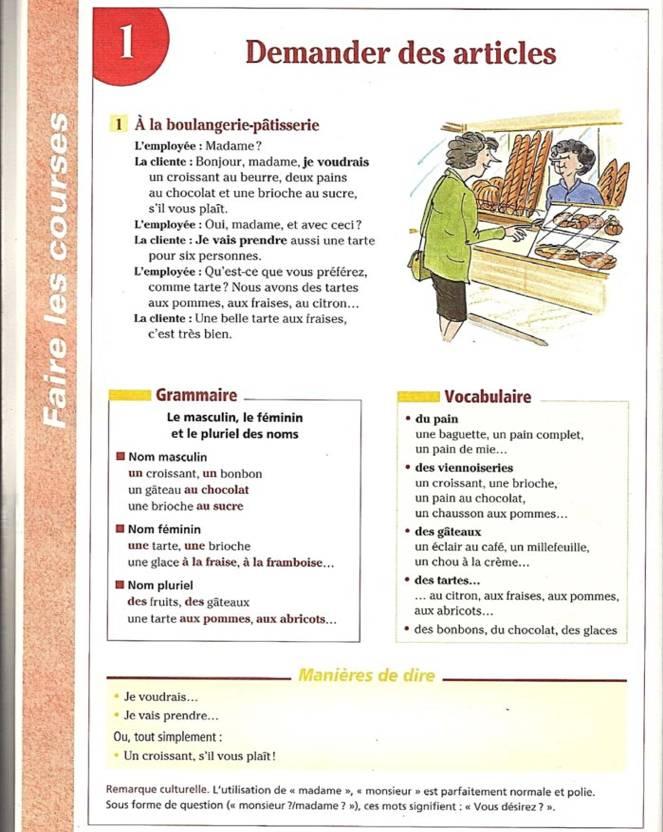 Cours de français pdf