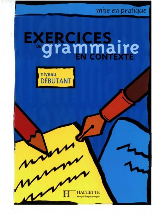 Exercices de Grammaire Niveau Debutant