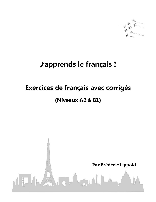 Exercices de français avec corrigés