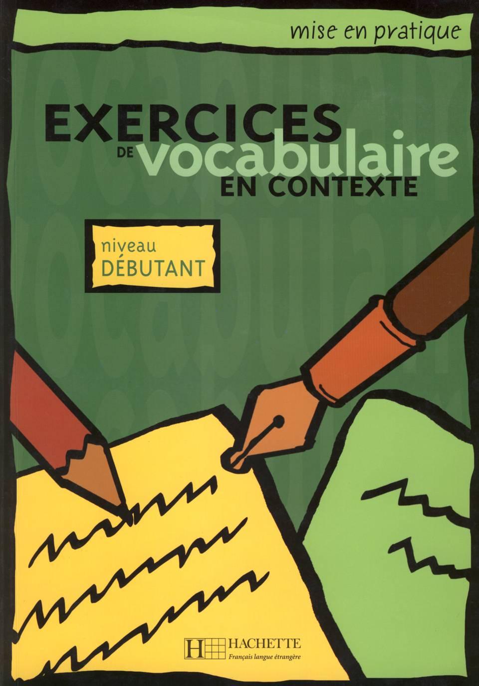 Exercices en Vocabulaire