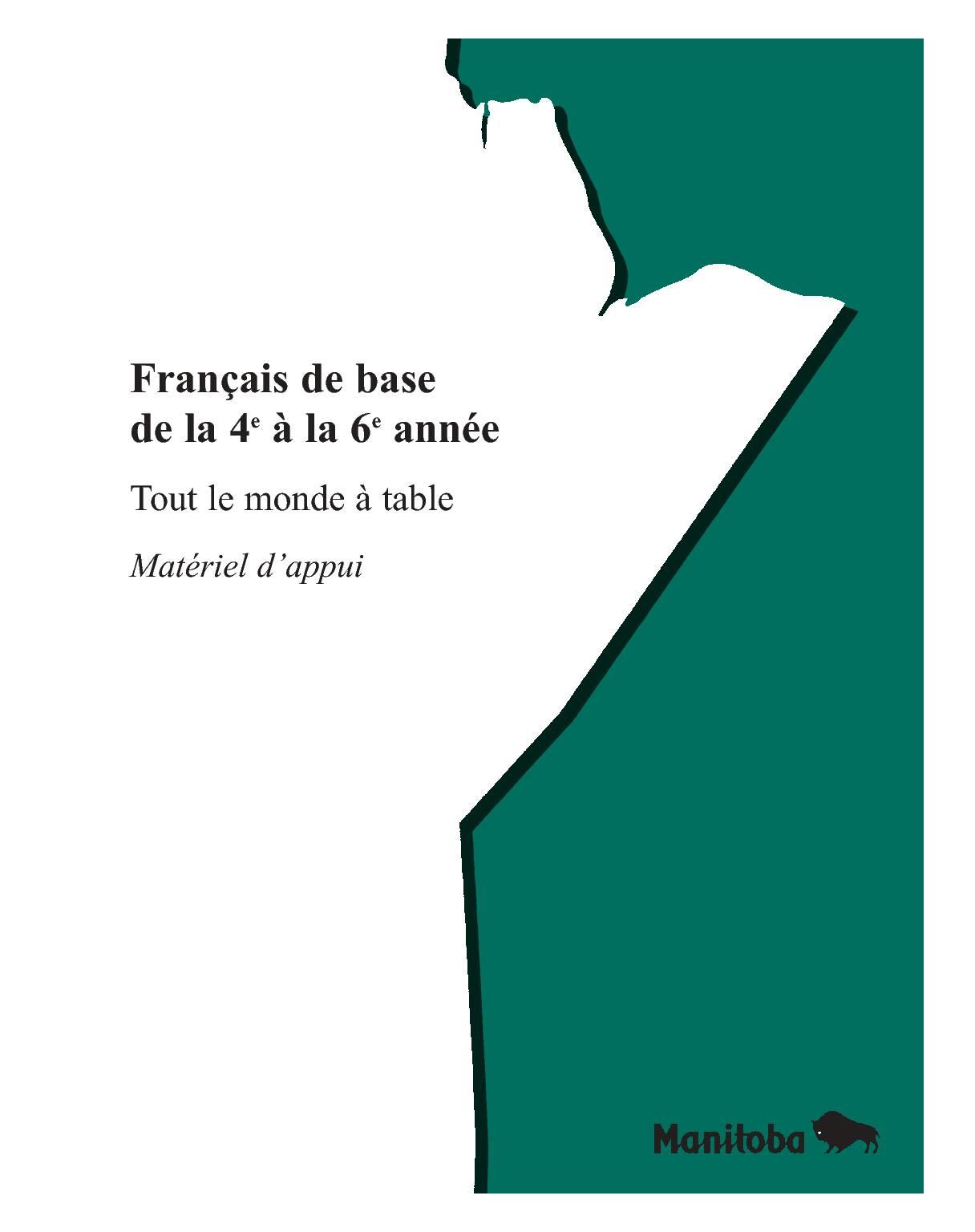 Livre Français de base